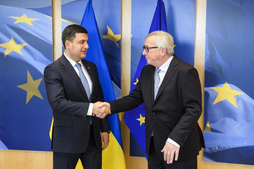 Successful Ukraine is an investment in the successful future of the whole of Europe - a meeting of Volodymyr Groysman with Jean-Claude Juncker