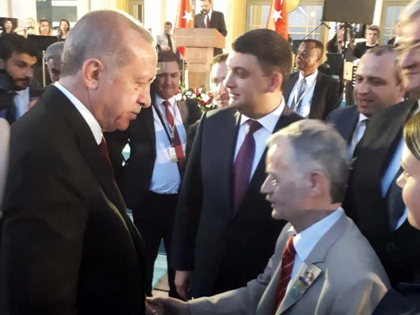 Prime Minister has taken part  in the inauguration ceremony of the President of Turkey