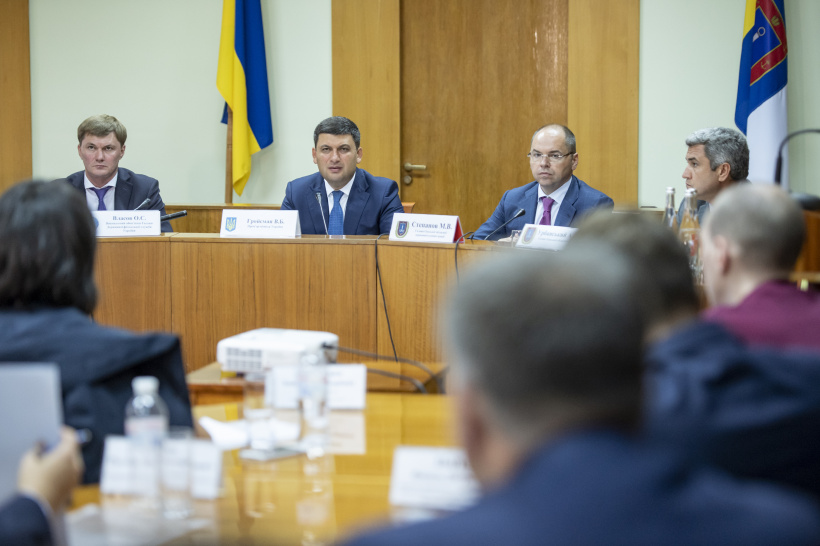 I declared war against smuggling and I do not intend to stand back, says Volodymyr Groysman