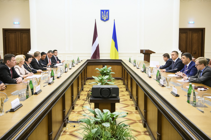 Latvia firmly supports Ukraine and continues the sanctions policy against the aggressor country – a meeting of Prime Minister and Speaker of the Saeima of Latvia