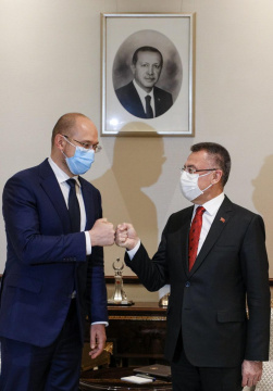 Prime Minister of Ukraine and Vice President of Turkey discussed joint investment projects