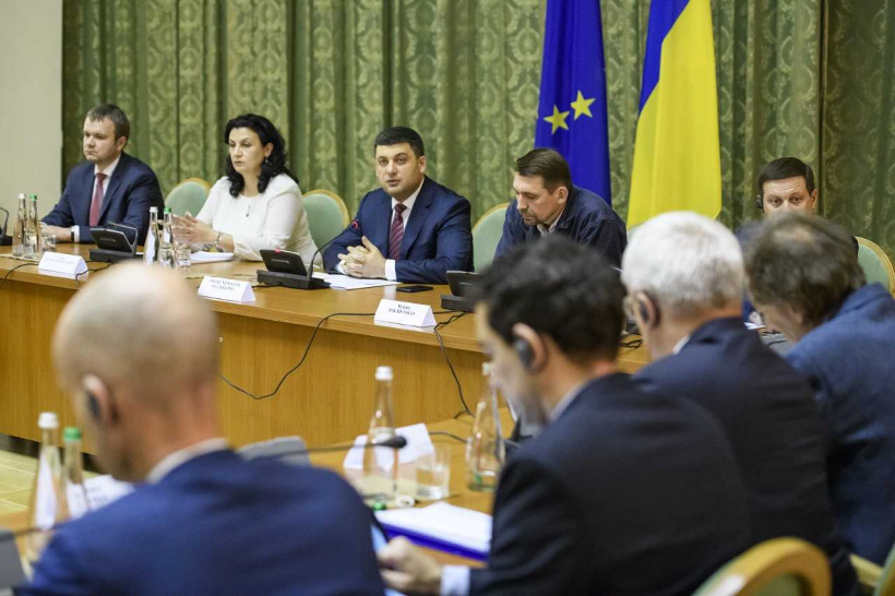 The situation in the east of Ukraine should remain on the agenda as an immense challenge for the democratic world – Prime Minister at a meeting with the Political and Security Committee delegation of the Council of EU