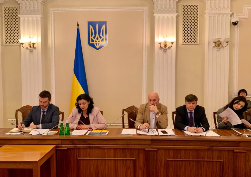 Ivanna Klympush-Tsintsadze and Deputy Ministers for European Integration analyze progress of EU-Ukraine Association Agreement implementation
