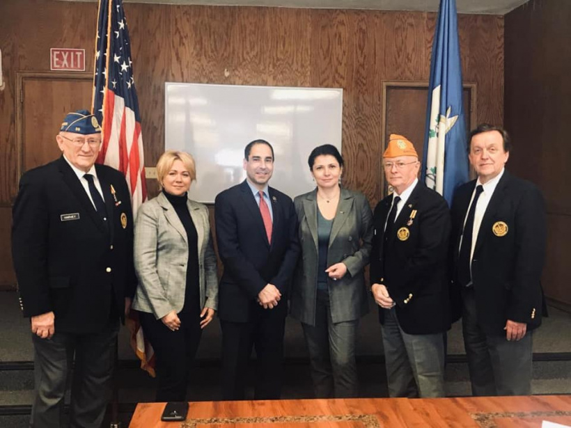Minister for Veterans Affairs got familiarized with the work of Connecticut Department of Veterans Affairs
