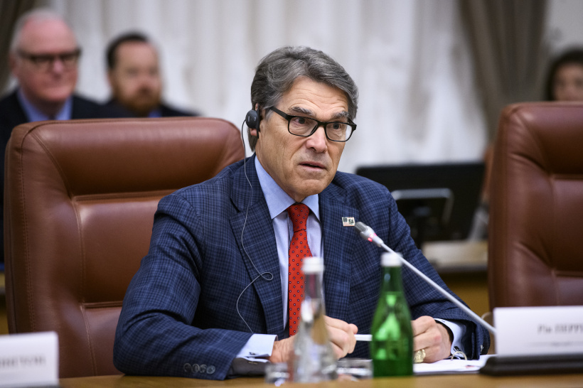 Construction of Nord Stream 2 is a kind of energy weapon of Russia, says Prime Minister at a meeting with United States Secretary of Energy Rick Perry