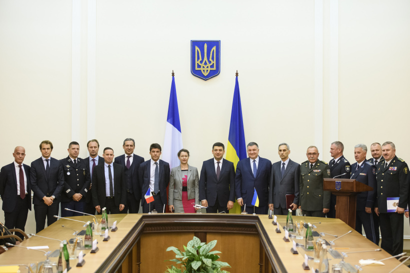 Ukraine and Airbus Helicopters sign agreement on the supply of 55 helicopters for the needs of the SES, the National Police, the National Guard and the Border Guard Service