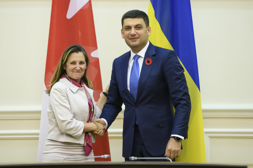 The third Ukraine Reform Conference will not be a platform for slogans, but  for concrete actions – a meeting of Prime Minister and Minister of Foreign Affairs of Canada