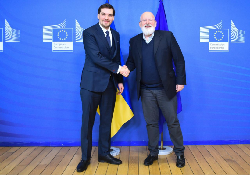 Oleksiy Honcharuk offers negotiations to EU on European Green Deal
