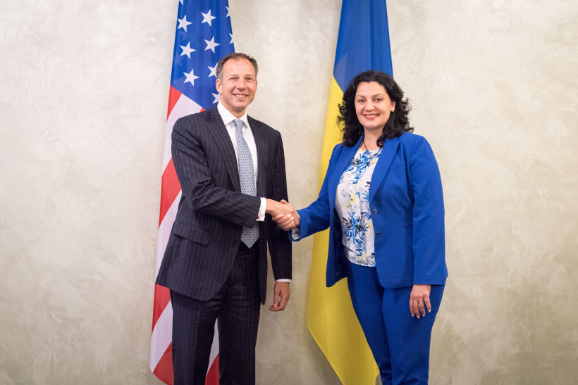 U.S. welcomes the Naftogaz unbindling