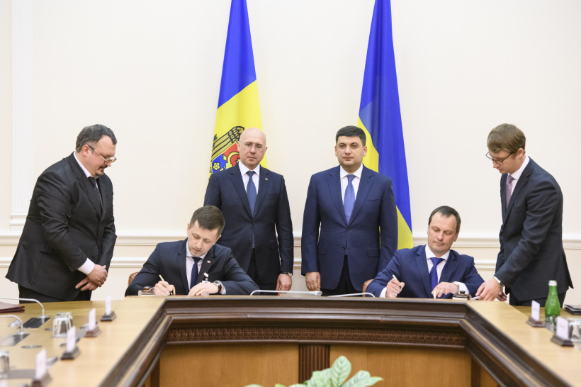 Ukraine and Moldova liberalized air connection and agreed to synchronize energy systems  - a meeting of Heads of Government of the two States