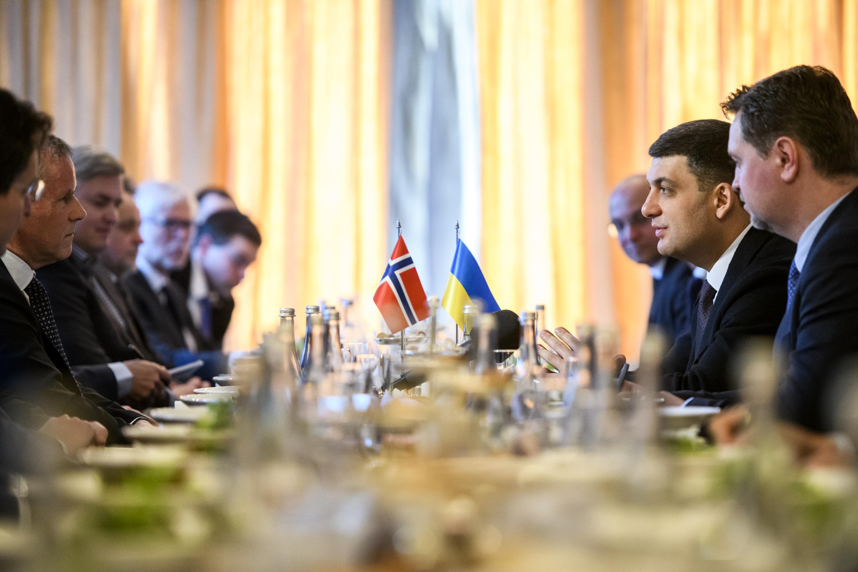 Економічна співпраця між Україною та Норвегією буде посилюватися, – Володимир Гройсман під час зустрічі з норвезьким бізнесом