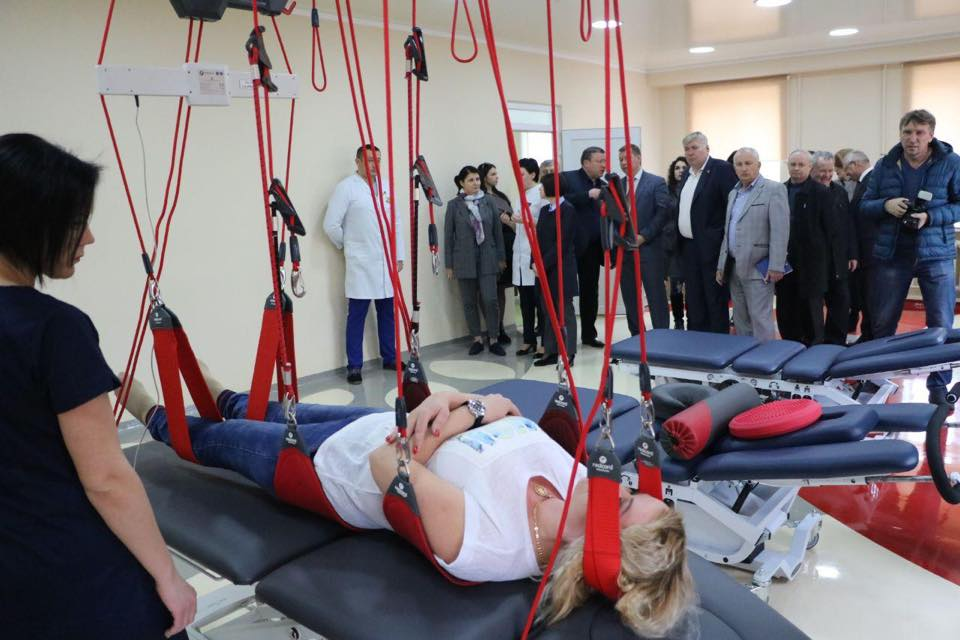 Міністр у справах ветеранів відвідала Центр високоспеціалізованої медичної реабілітації Херсонщини