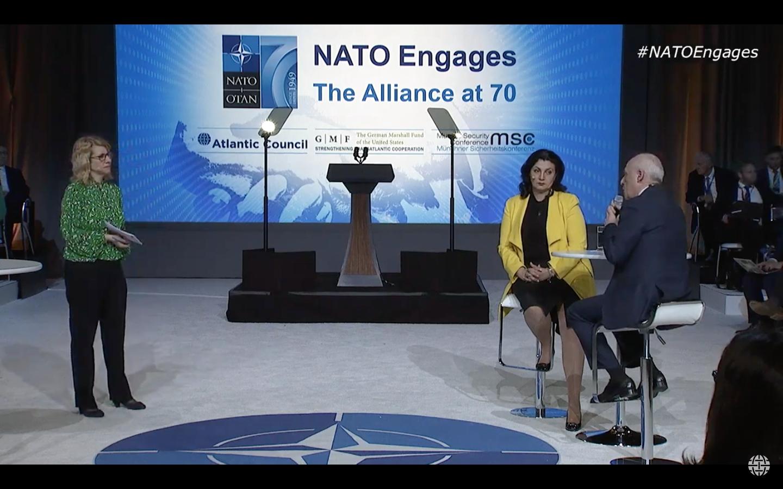 Розширення присутності НАТО на Схід обов'язкове для припинення гібридної агресії Росії, - Іванна Климпуш-Цинцадзе у Вашингтоні
