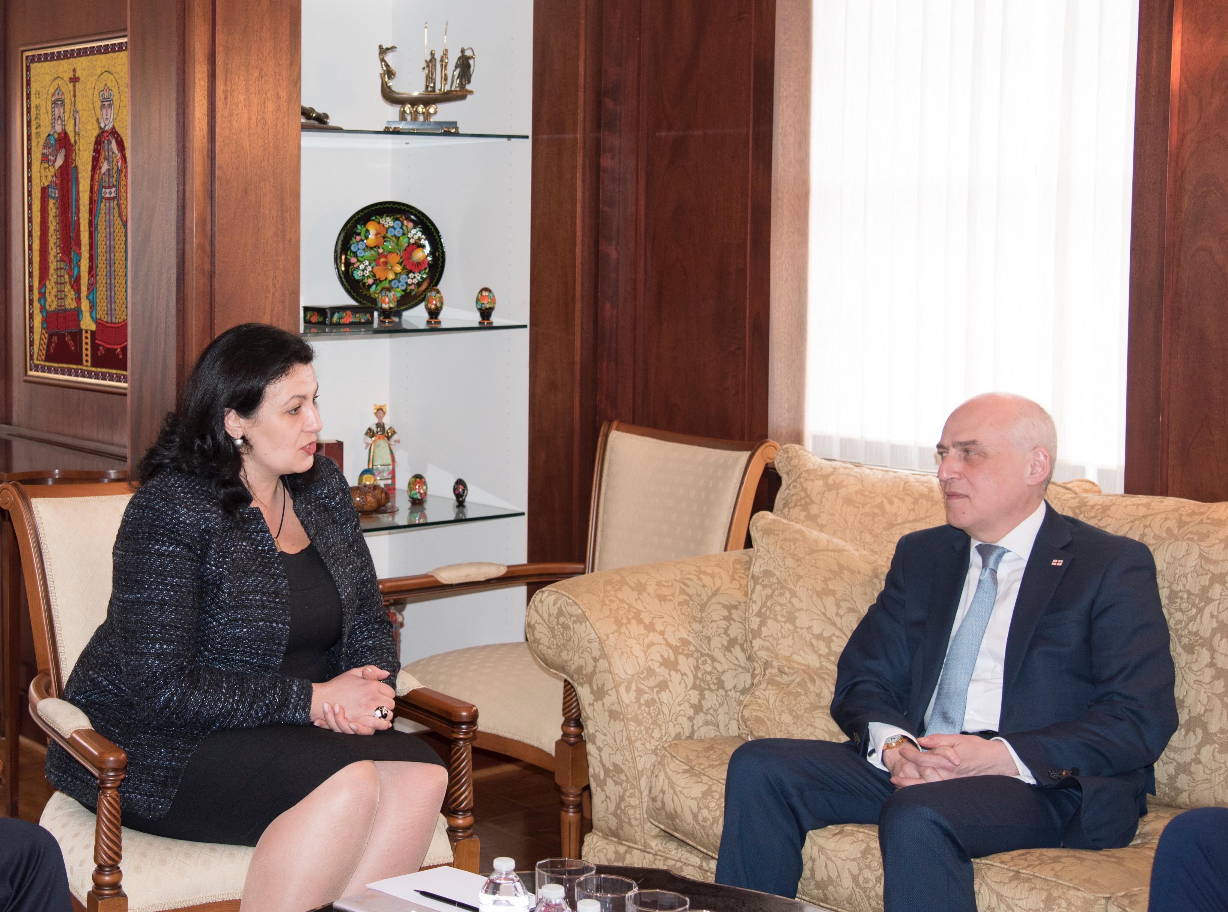 Україна та Грузія проведуть наступне засідання міжурядової комісії з економічної співпраці в червні