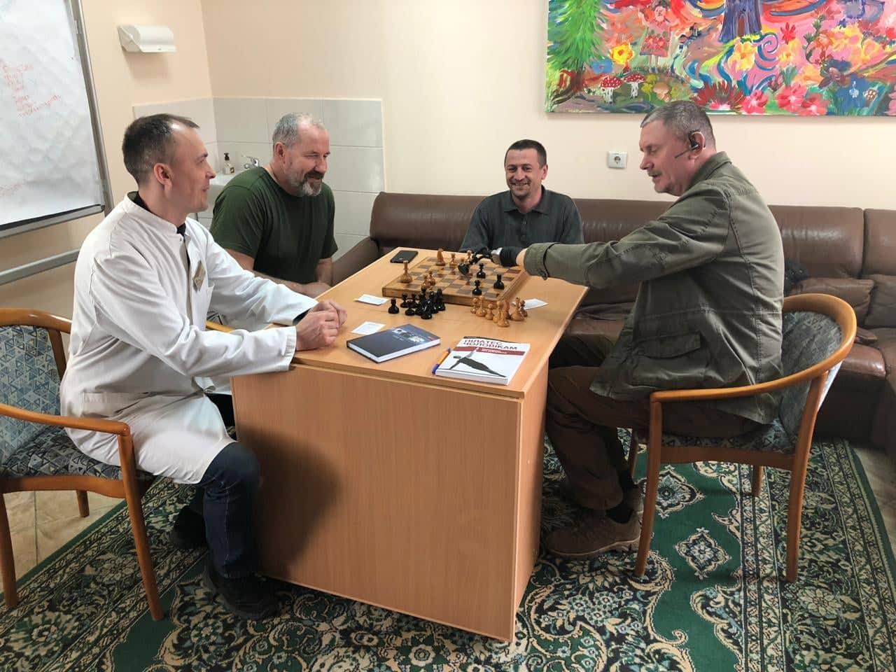 Керівництво Міністерства у справах ветеранів ознайомилося з роботою реабілітаційного центру Волинського обласного госпіталю ветеранів війни