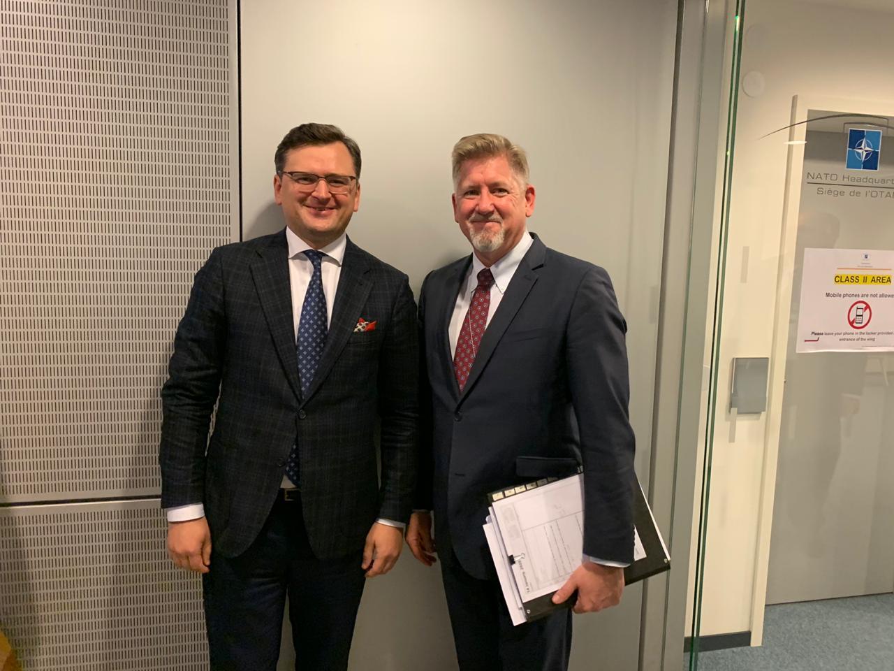 Кабінет Міністрів України - Україна повідомила НАТО про готовність стати операційним партнером Альянсу в Іраку